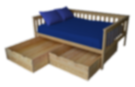 Item 3460 Full Mission Daybed & Item 324