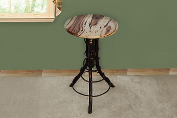 Item 2210 Hickory Accent Table - Rustic