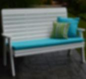 Item 853 5ft Winston Garden Bench - Whit