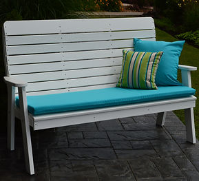 Item 853 5ft Winston Garden Bench - Whit