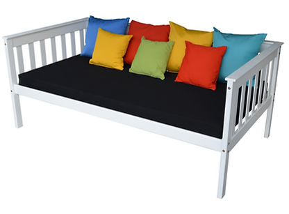 Item 3450 Twin Mission Daybed - White w