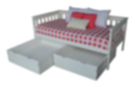 Item 3450 Twin Mission Daybed & Item 323