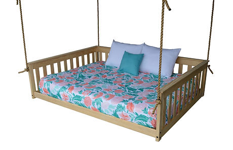 Item 3560 Full Mission Hanging Daybed w