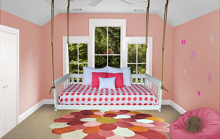 Item 3550 Twin Mission Hanging Daybed w