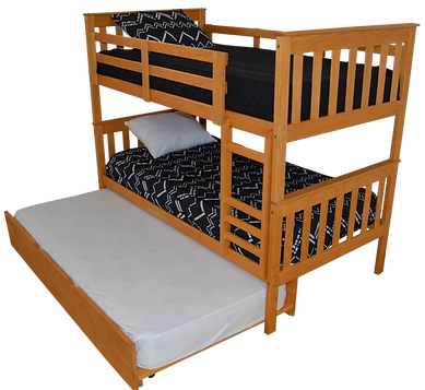 Item 3140 Twin Bunkbed w Item 3210 Twin