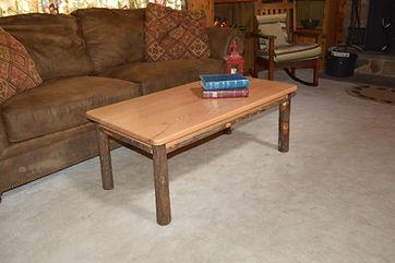 Item 2821 Hickory Solid Wood Coffee Tabl