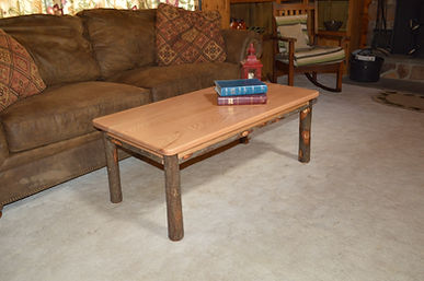 Item 2821 Hickory Solid Wood Coffee Tabl
