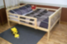Item 3130 Full Bed with Safety Rails - U