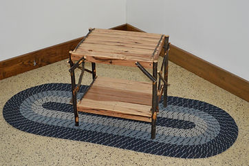 Item 2070 Hickory End Table - Rustic Hic