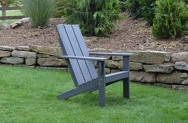 Item 663C Modern Adirondack Chair - Char