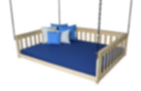Item 3561 Full Mission Hanging Daybed w
