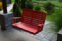 Item 862 4ft Winston Swing - Bright Red