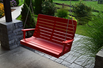 Item 862 4ft Winston Swing - Bright Red