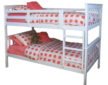3140 Twin Bunkbed- White.png