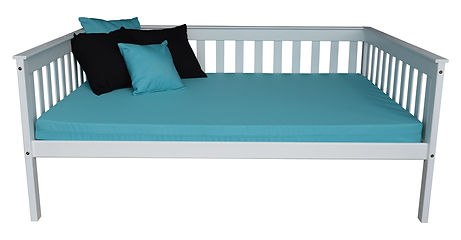 Item 3460 Full Mission Daybed - White w