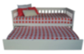 Item 3450 Twin Mission Daybed & Item 321