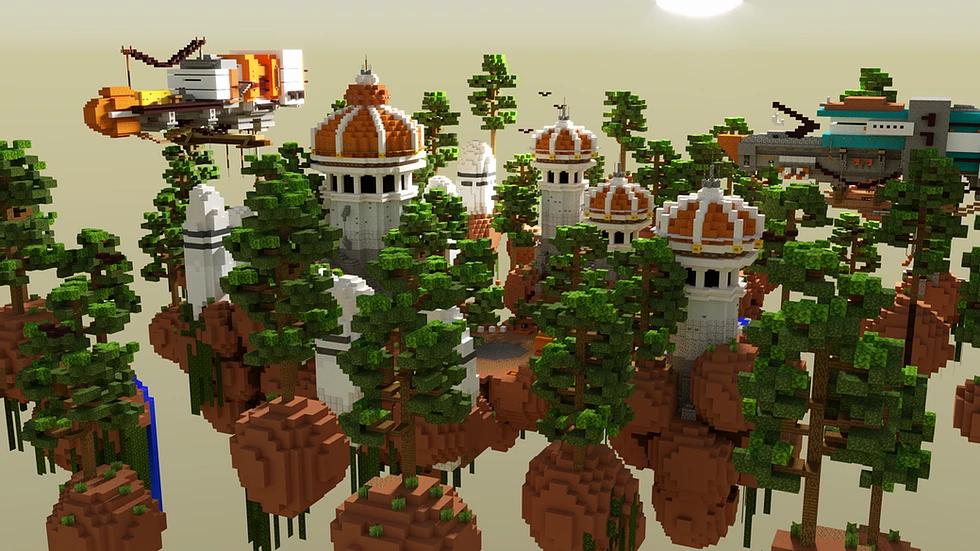 Sci-Fi Mini-Game Lobby