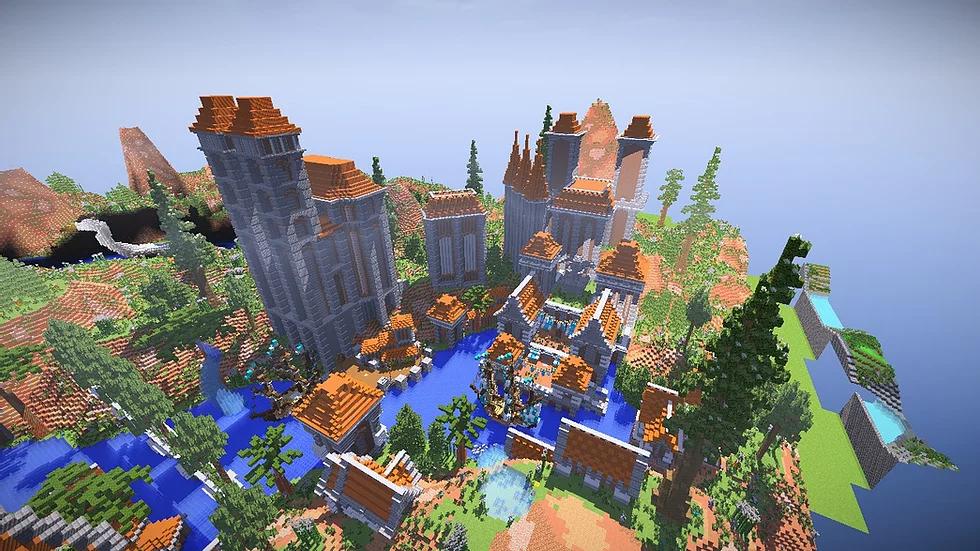 Orange Medieval Hub