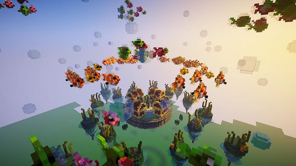 Underwater Skywars Map