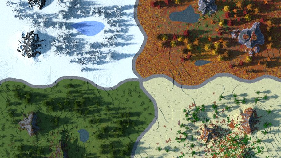 Seasonal Warzone Terrain