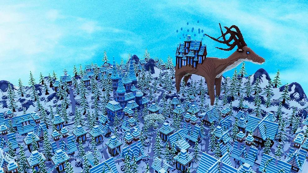 Snowy Medieval Hub