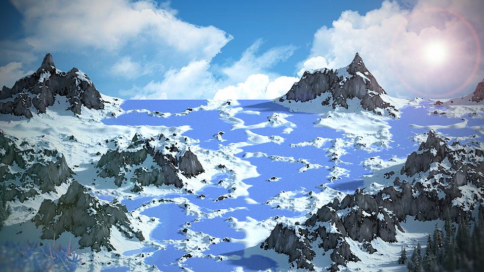 5k x 5k Arctic Terrain