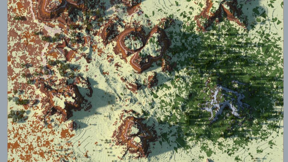 1k x 1k Desert Terrain
