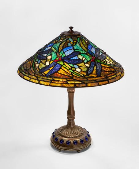 "Koting Studio - ""Swirling Dragonfly"" Table Lamp"