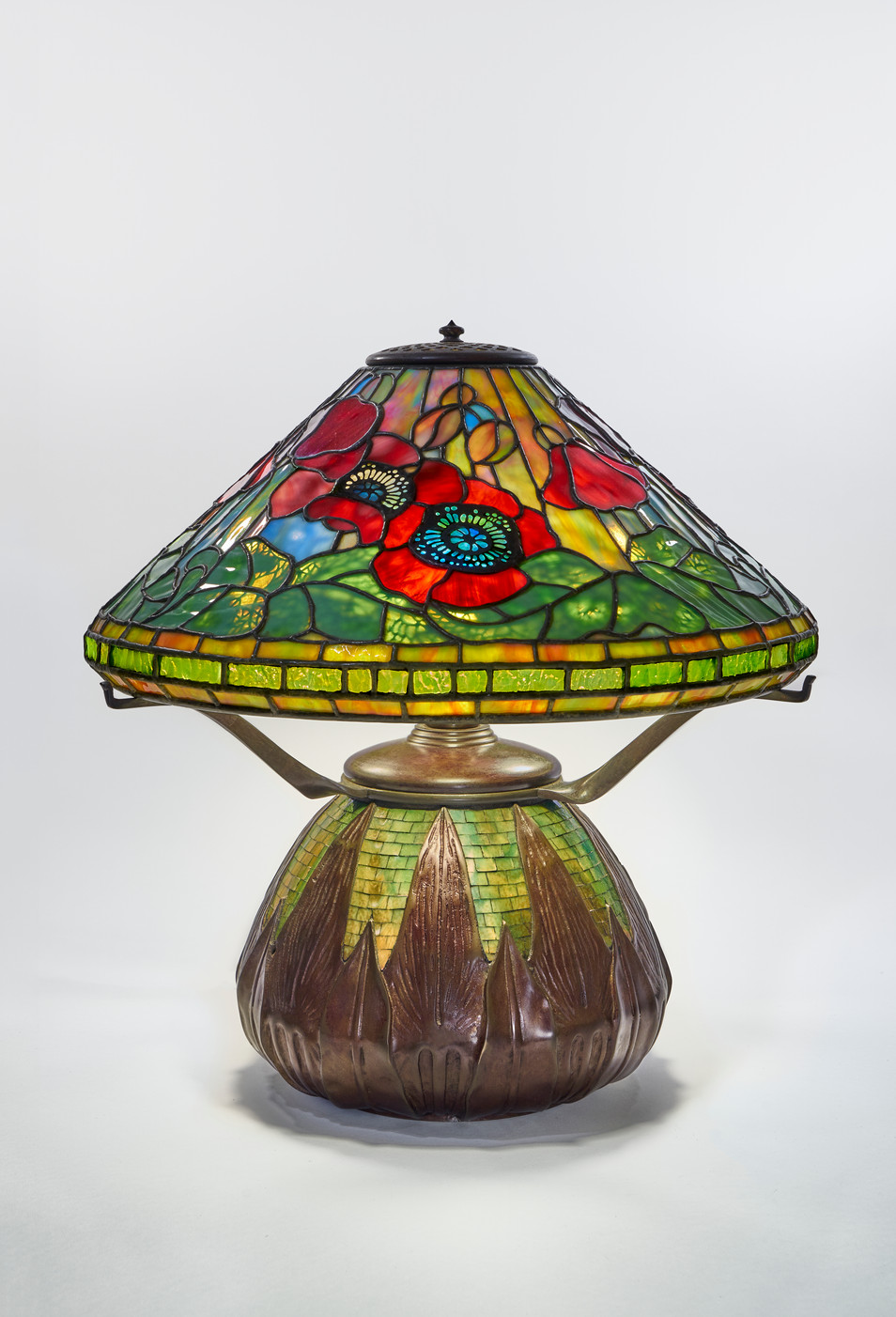 ''Red Poppy'' Table Lamp