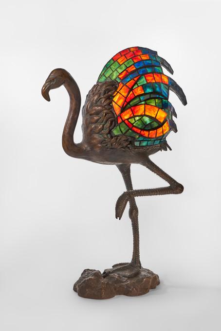 """Koting Studio - """"Flamingo"""" Sculpture Lamp"""