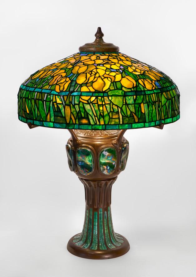 ''Yellow Tulip'' Table Lamp