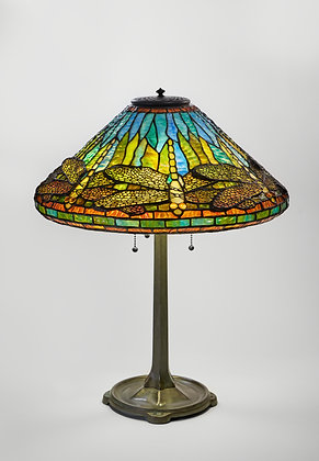''Yellow Dragonfly'' Table Lamp