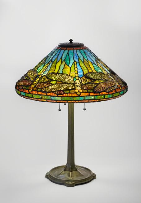 "Koting Studio - ""Yellow Dragonfly"" Table Lamp"