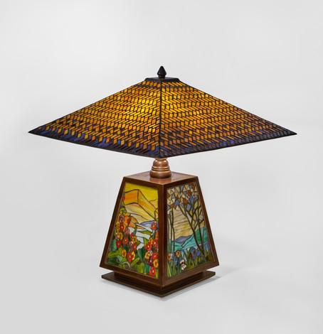 "Studio - ""Roman Mosaic"" Table Lamp"