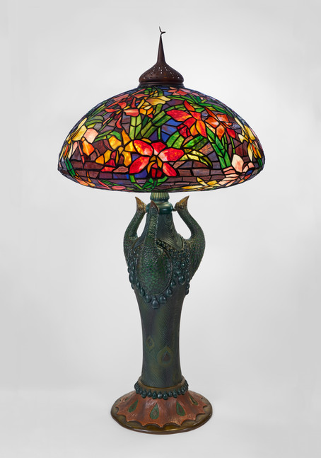 ''Orchid'' Large Table Lamp