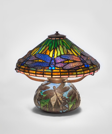 "Koting Studio - ""Blue Dragonfly"" Table Lamp"