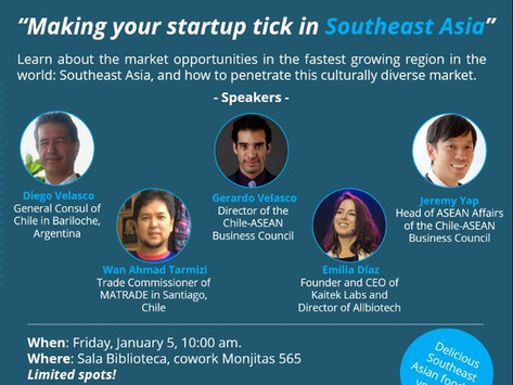 """Workshop: """"Making your startup tick in South East Asia"""""""