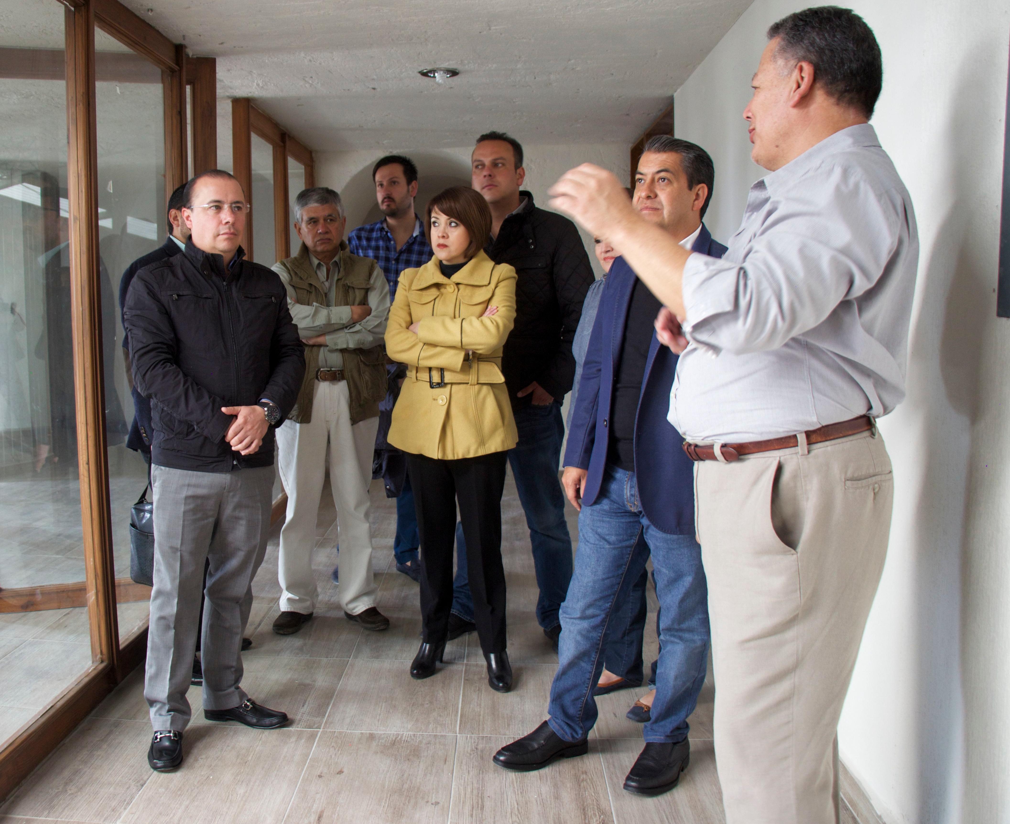 Visita del Presidente Municipal