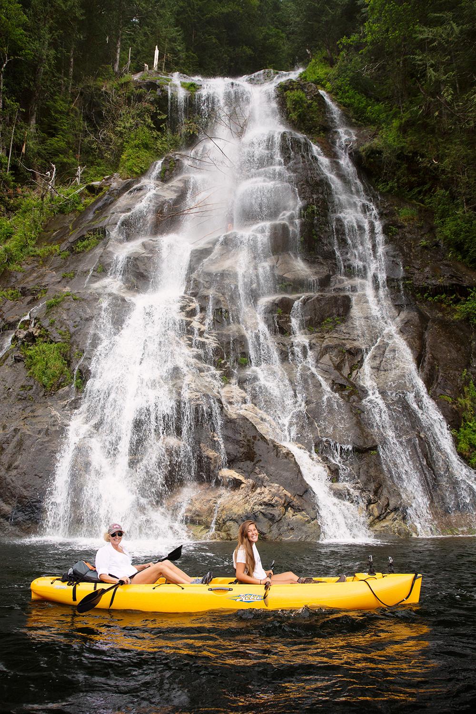 Kayaking Princess Louisa Inlet BC