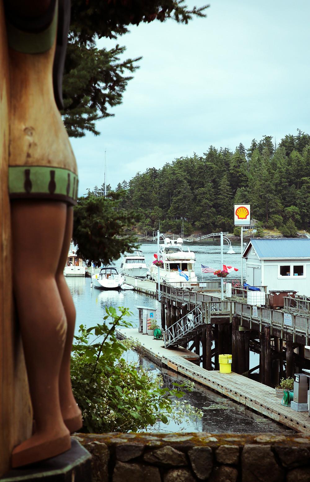 Marina at Roche Harbor San Juan Islands