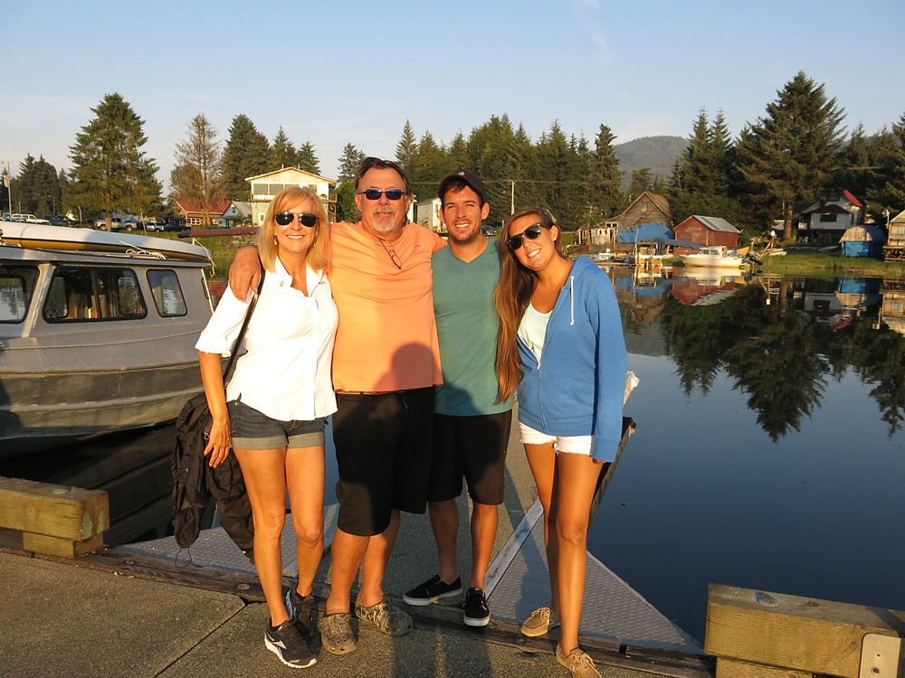 Family In Petersburg Alaska