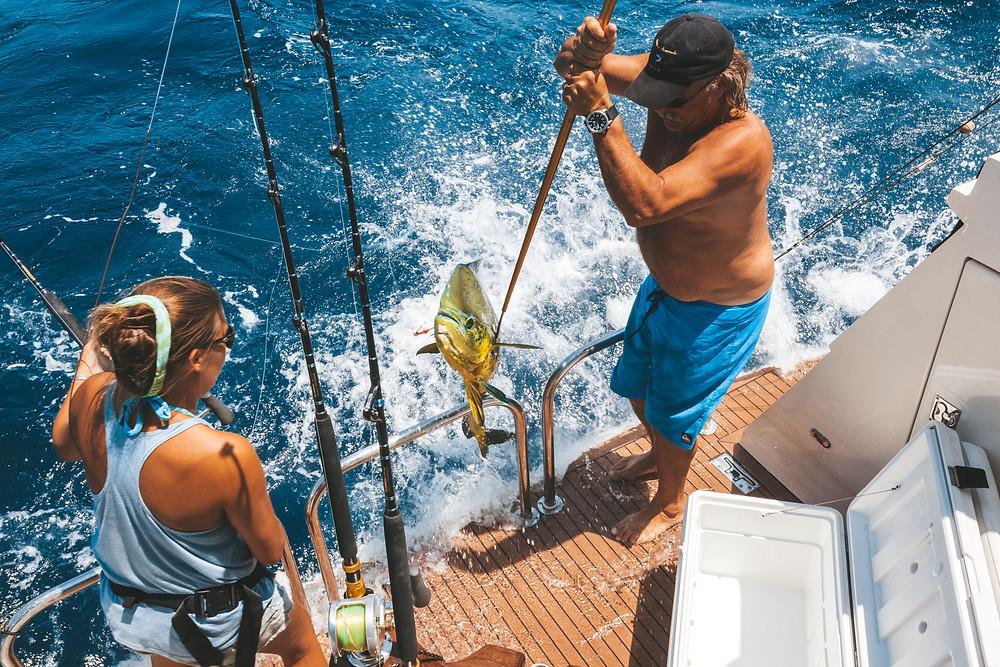 El Salvador Fishing for Mahi