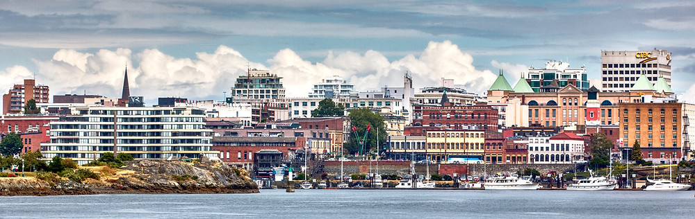 Victoria Harbor, British columbia