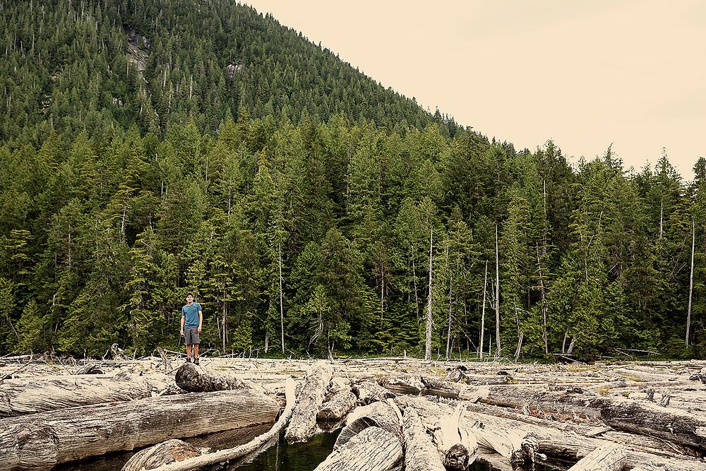 Lake at Butedale BC