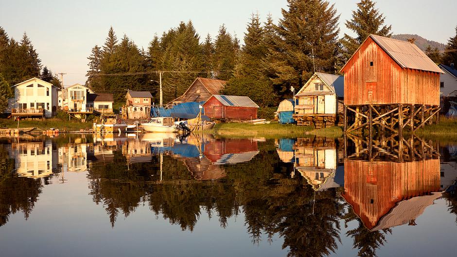THE CUTE TOWN OF PETERSBURG, ALASKA