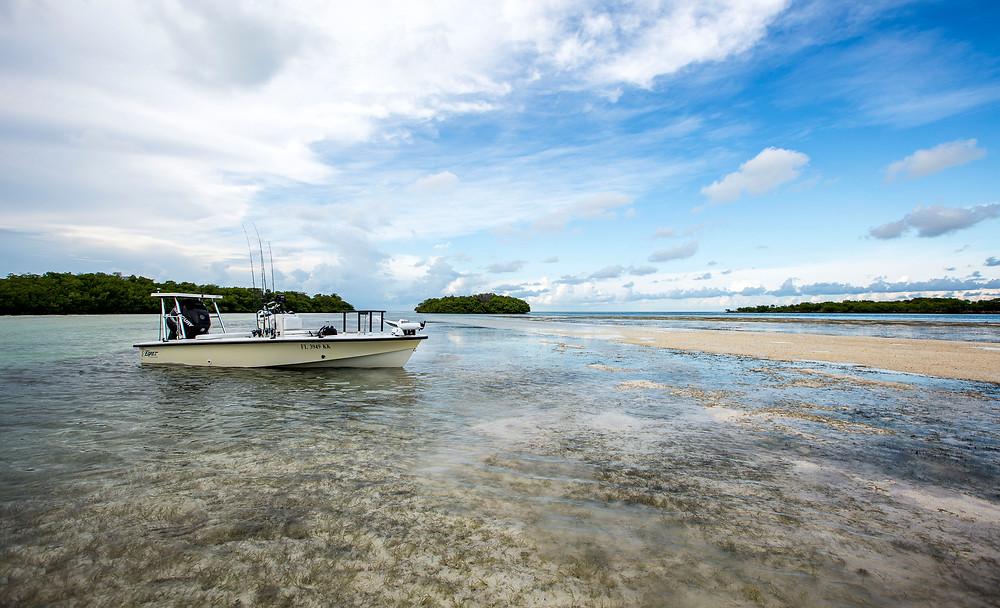 Egrets Flats Boat - Skinny Water