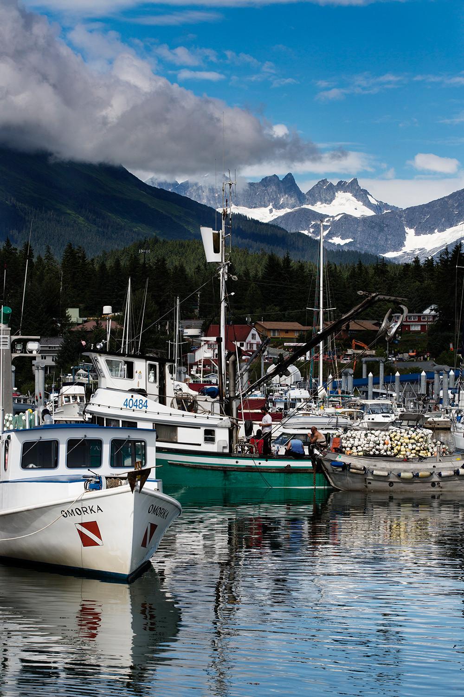 Marina in Juneau, Alaska