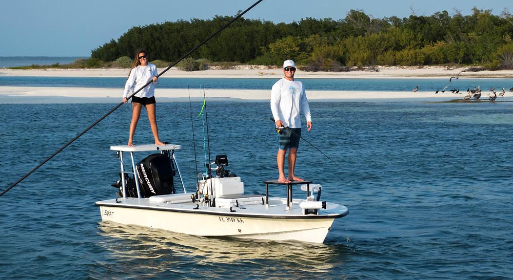 Egret Flats Boat