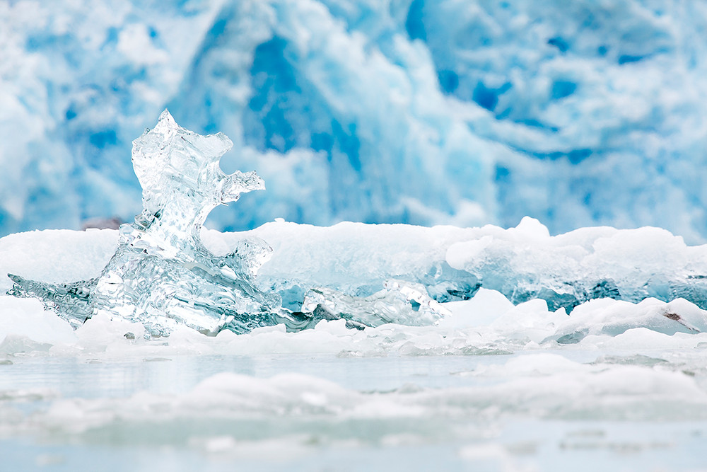 Iceberg Sawyer Glacier