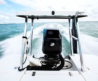 Flats boat for fly Fising